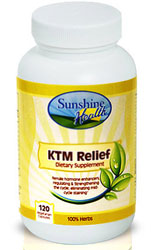 Sunshine Health KTM Relief - Kosher for Passover 120 Vegetarian Capsules