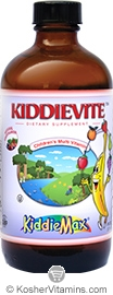 Maxi Health Kosher KiddieMax Childrens Kiddievite Multi Vitamin Liquid Fruit Flavor 8 OZ