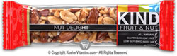 Kind Kosher Fruit And Nut Bars Nut Delight  12 Bars