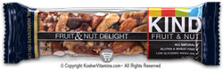 Kind Kosher Fruit And Nut Bars Fruit And Nut Delight 12 Bars