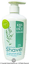 Kiss My Face Moisture Shave Cool Mint 11 OZ