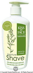 Kiss My Face Moisture Shave Green Tea and Bamboo 3.4 Oz