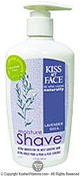 Kiss My Face Moisture Shave Lavender And Shea  11 OZ