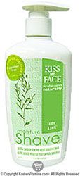 Kiss My Face Moisture Shave Key Lime 3.4 OZ