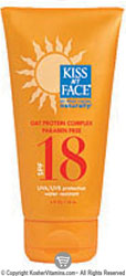 Kiss My Face Sun Screen Spf 18 With Oat Protein Complex 4 OZ