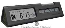 Kosher Innovations KosherClock 3 1 Clock