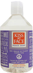 Kiss My Face Castile Soap Lvndr Mandrn 17 OZ