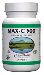 Maxi Health Kosher Vitamin C 500 Mg. 250 Tablets