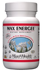 Maxi Health Kosher Max Energee (Energy Formula) 90 Tablets