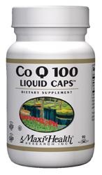 Maxi Health Kosher Co Q 100 Mg (Coenzyme) 90 Liquid MaxiCaps