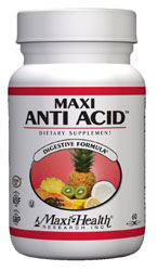 Maxi Health Kosher Maxi Anti Acid�  60 Capsules