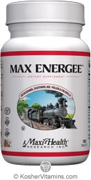 Maxi Health Kosher Max Energee (Energy Formula) 180 Tablets