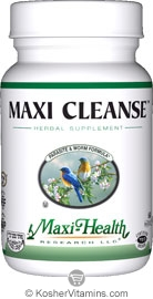 Maxi Health Kosher Maxi Cleanse 60 MaxiCaps
