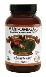 Maxi Health Kosher Maxi Omega-3 Fish Oil Joint Formula EPA/DHA 90 MaxiCaps