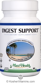 Maxi Health Kosher Digest Support 90 Tablets