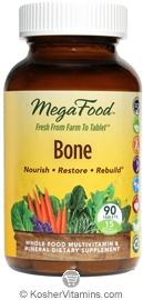 MegaFood Kosher Bone 90 Tablets
