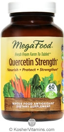 MegaFood Kosher Quercetin Strength  60 Tablets