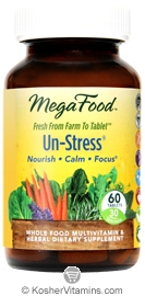 MegaFood Kosher Un-Stress  60 Tablets