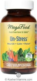 MegaFood Kosher Un-Stress  90 Tablets