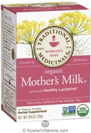 Sunshine Health Mother's Milk - Kosher for Passover 180 Vegetarian Capsules