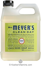 Mrs. Meyer's Clean Day Lemon Verbena Liquid Hand Soap Refill 33 OZ
