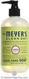 Mrs. Meyer's Clean Day Lemon Verbena Liquid Hand Soap 12.5 OZ