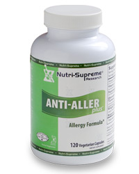 Nutri-Supreme Research Kosher Anti-Aller Plus 120 Vegetarian Capsules