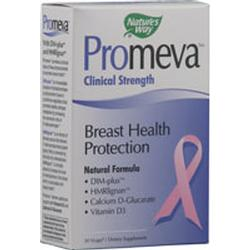 Natures Way Promeva Breast Health Protection Vegetarian Suitable Not Certified Kosher 30 Vegetable Capsules