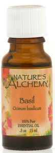 Nature's Alchemy 100% Pure Essential Oil Basil 0.5 OZ