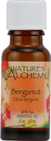 Nature's Alchemy 100% Pure Essential Oil Bergamot 0.5 OZ