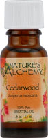 Nature's Alchemy 100% Pure Essential Oil Cedarwood 0.5 OZ