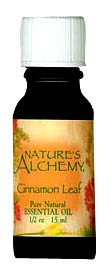 Nature's Alchemy 100% Pure Essential Oil Cinnamon Leaf 0.5 OZ