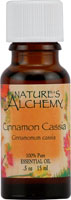 Nature's Alchemy 100% Pure Essential Oil Cinnamon Bark Cassia  0.5 OZ
