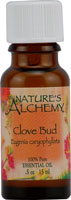 Nature's Alchemy 100% Pure Essential Oil Clove Bud 0.5 OZ