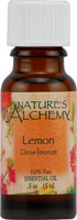Nature's Alchemy 100% Pure Essential Oil Lemon 0.5 OZ