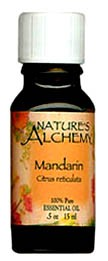 Nature's Alchemy 100% Pure Essential Oil Mandarin 0.5 OZ