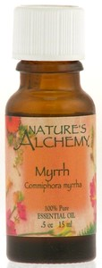 Nature's Alchemy 100% Pure Essential Oil Myrrh 0.5 OZ