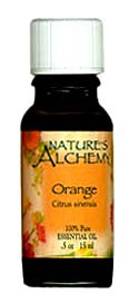 Nature's Alchemy 100% Pure Essential Oil Orange 0.5 OZ