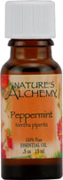 Nature's Alchemy 100% Pure Essential Oil Peppermint 0.5 Oz
