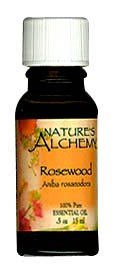 Nature's Alchemy 100% Pure Essential Oil Rosewood 0.5 OZ