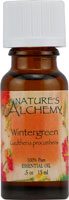 Nature's Alchemy 100% Pure Essential Oil Wintergreen 0.5 OZ
