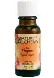 Nature's Alchemy 100% Pure Essential Oil Red Thyme 0.5 OZ