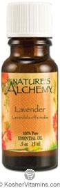 Nature's Alchemy 100% Pure Essential Oil Lavender 0.5 OZ
