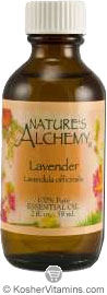 Nature's Alchemy 100% Pure Essential Oil Lavender 2 OZ