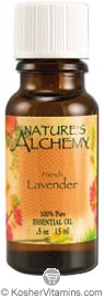 Nature's Alchemy 100% Pure Essential Oil French Lavender 0.5 OZ