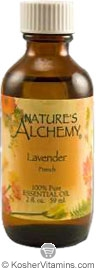 Nature's Alchemy 100% Pure Essential Oil French Lavender 2 OZ