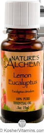 Nature's Alchemy 100% Pure Essential Oil Lemon Eucalyptus 0.5 OZ