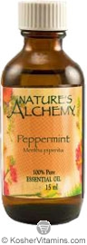 Nature's Alchemy 100% Pure Essential Oil Peppermint 2 OZ