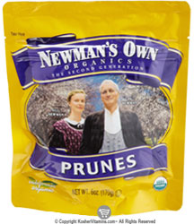 Newman's Own Organic Kosher Prunes 12 OZ