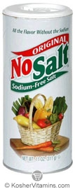 No Salt Kosher Original NoSalt Sodium-Free Salt Alternative 11 OZ